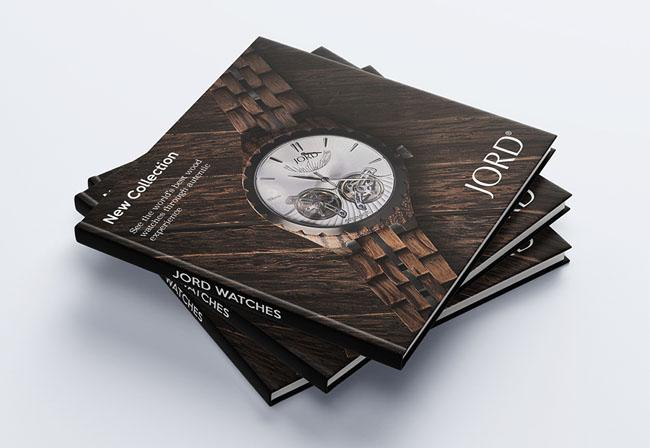 JORD腕表宣传册设计