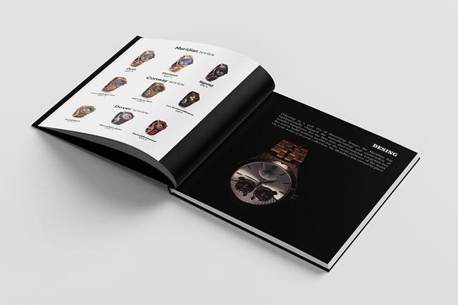 JORD腕表宣传册设计欣赏