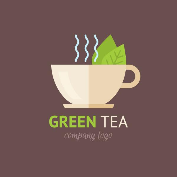 Illustrator时尚简约风格的扁平化茶杯图标画画设计教程