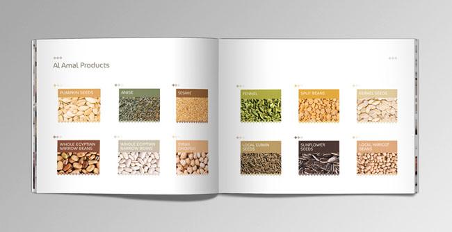 国外Al Amal农业食品画册设计
