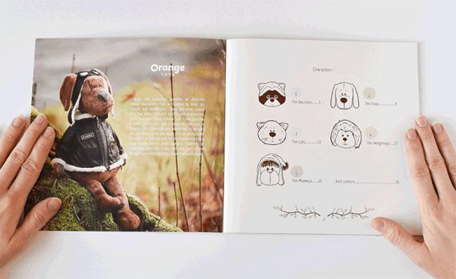 Orange Life玩具公司宣传册设计,深圳画册设计