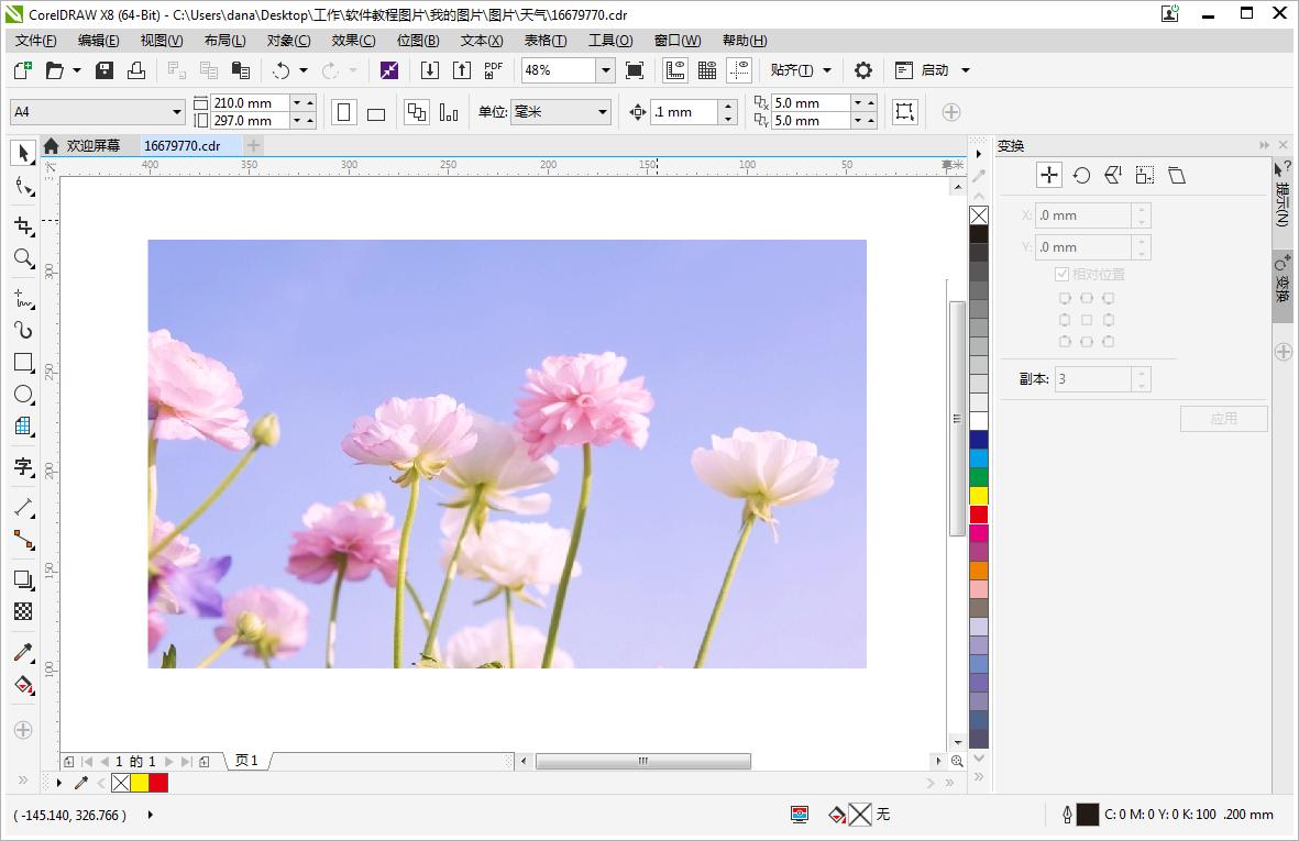 CorelDRAW如何切割图片-深圳画册设计公司教程